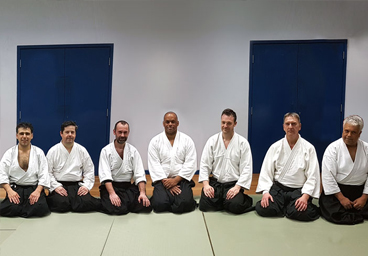 Instructors at kingston aikido are DR. Ali Khan and Fernando Raposo